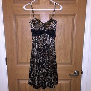 NWT Studio Y leopard print dress